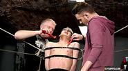 Reece Gets Double Teamed - Reece Bentley, Adam Watson And Sebastian Kane