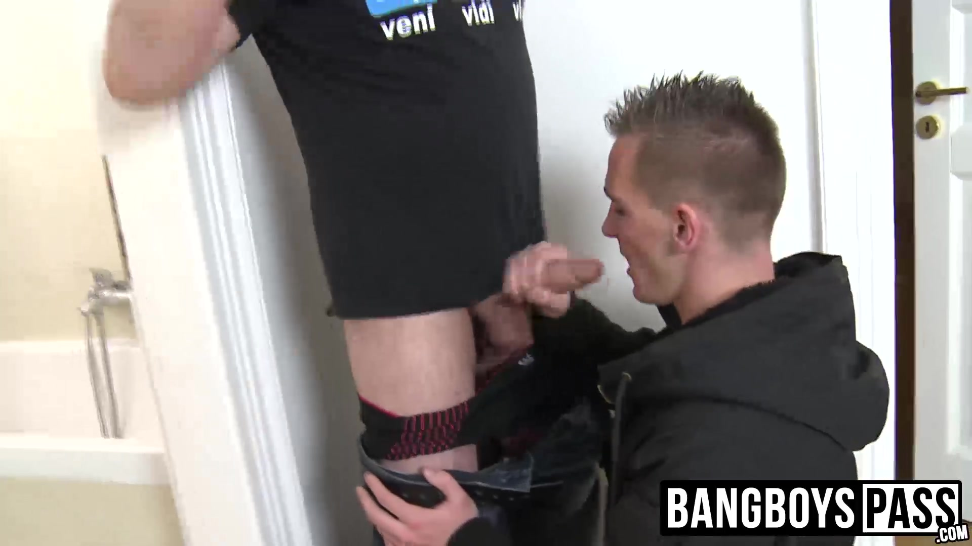 Exchanging blowjobs