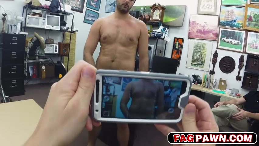 Straight guy ass fucking for cash