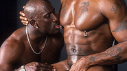 Interracial Gays Group Sex In Gym