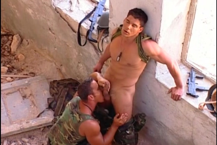 Hardcore gay fuck outdoor