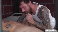 Sebastian Young gets drilled in the ass by Rocko South