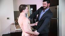 Hot stepdad  Billy Santoro gets ass fucked by hunk horny dude Doug Acre