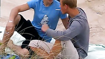 Free movies of gay pantie boys getting fucked Roma and Archi Outdoor