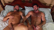 Intimate buddies Billy Santoro bounces and Colby Jansen fucked while nobody is around