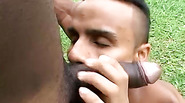 Gays cant resist this hot black studs amazing big cock