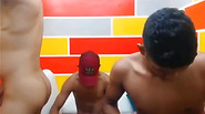 Camshow with Three Sexy Colombian Studs