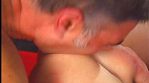 Double cock action with some suck and jerk