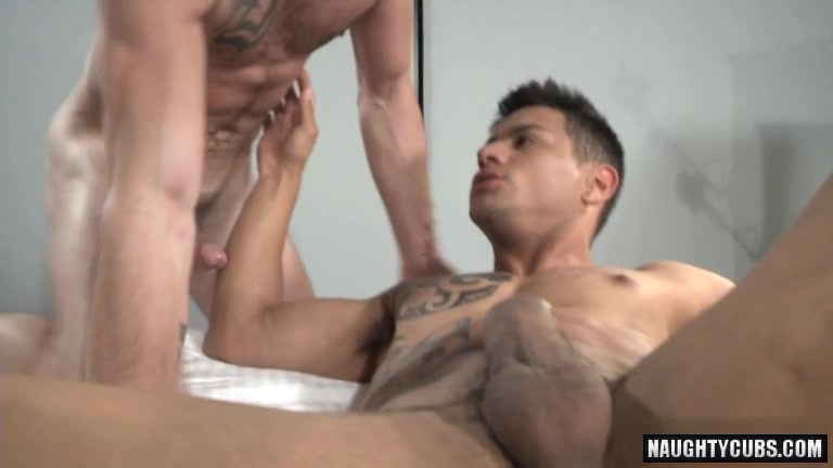Hot jock flip flop with cumshot