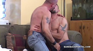 Horny Gay Daddies Suck Each Other Off