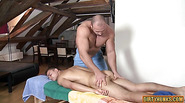 Muscle daddy anal sex with facial