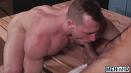 Military homos Blake Hunter and Diego Sans ass bang