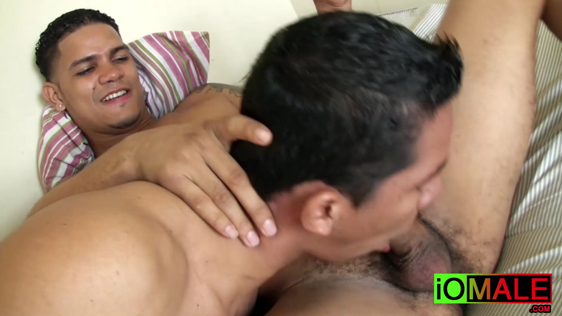 Inked latino stud breeding passionately with his boyfriend