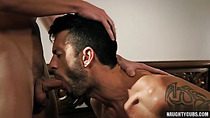 Tattoo gay anal sex with cumshot