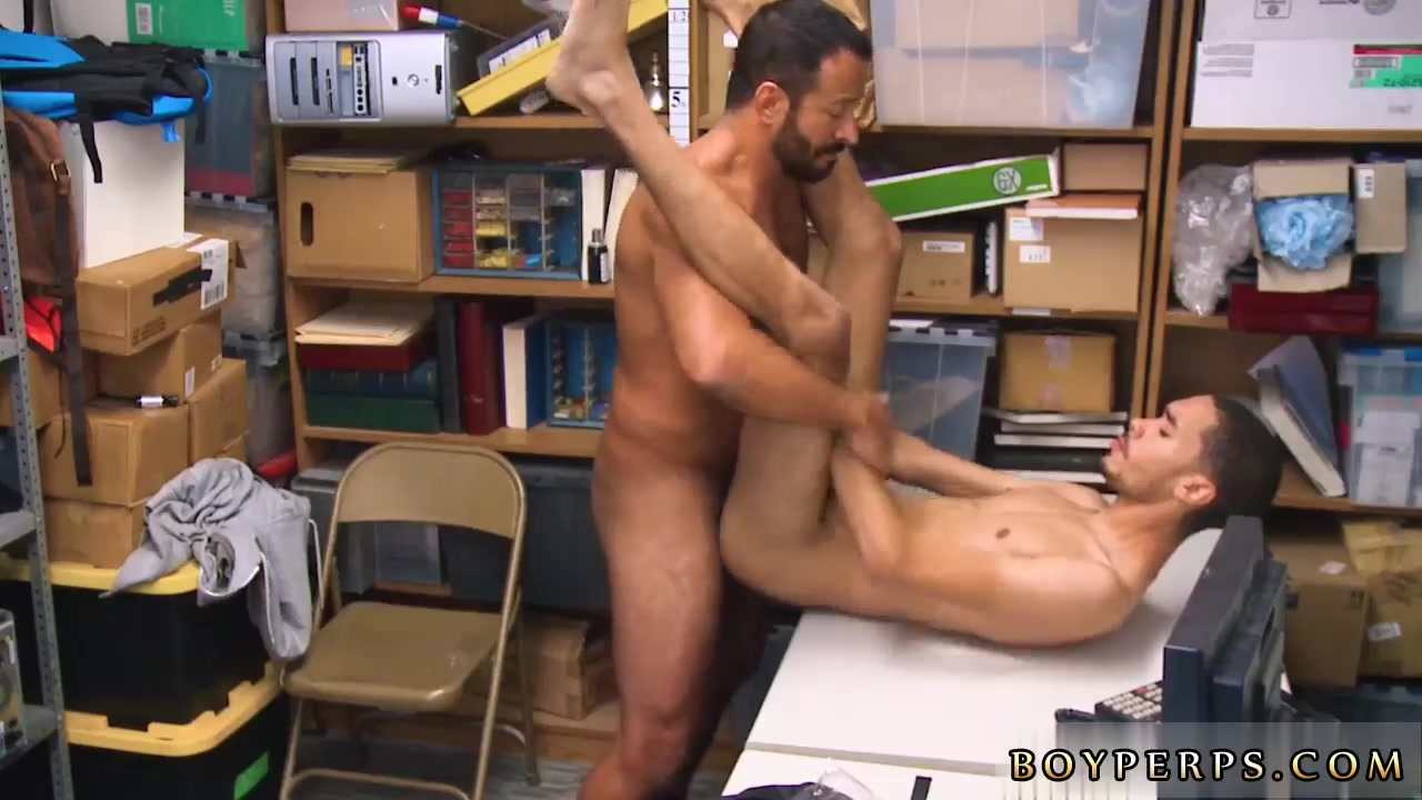 Gay male ass licking