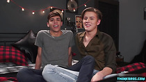 Latin twink spanking and facial
