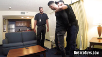 Bound cute twink brutally fucked and bound by a bearded cop