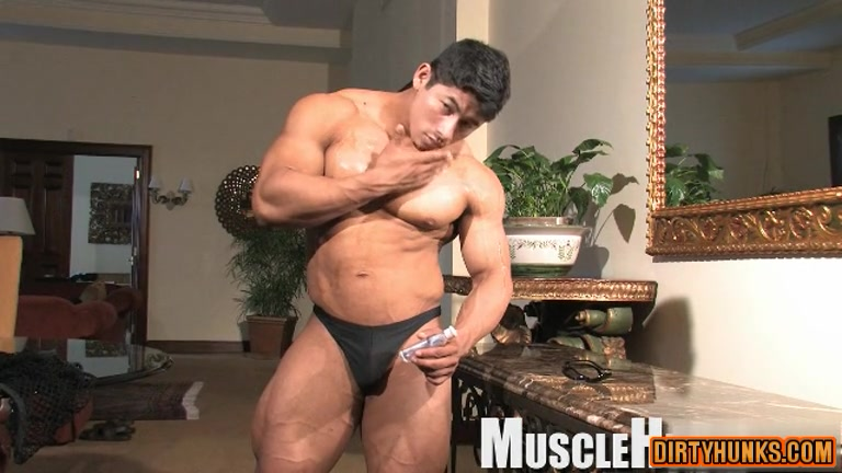 Muscle gay anal rimming with facial6