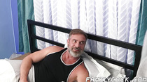 Good looking stepson takes dads fat cock up the ass deep