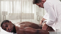 Hot son interracial sex with massage