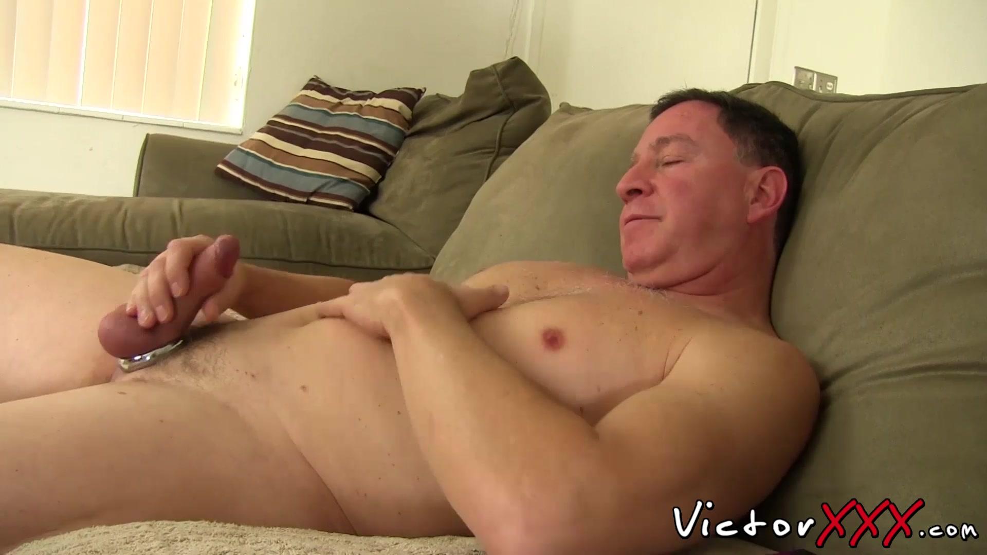 Masturbates Guy