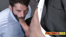 Rock hard penis nurturing a perfectly tight gay ass