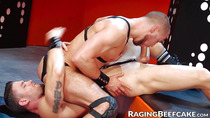 Leather loving jocks fucking hard after oral pleasures