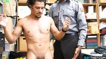 Latino Thief Bareback Dominated By BBC