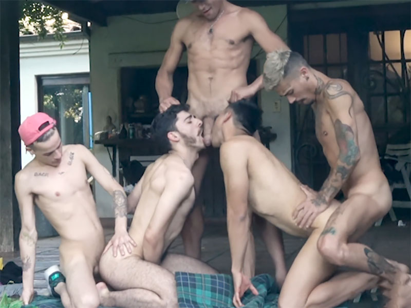Military studs fuck gay twinks